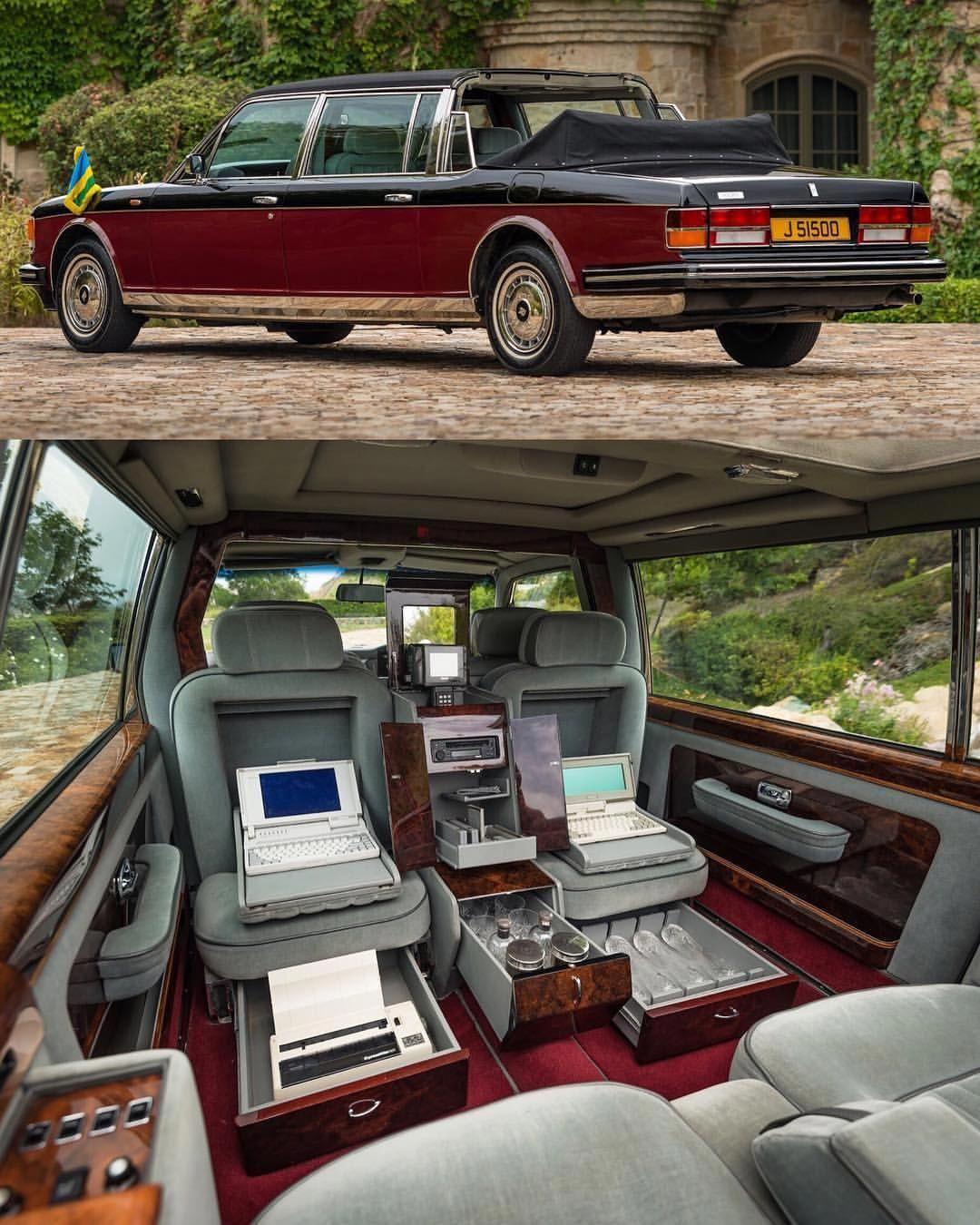 Bentley State Limousine: 1989 Rolls-Royce Silver Spirit I Emperor State Landaulet