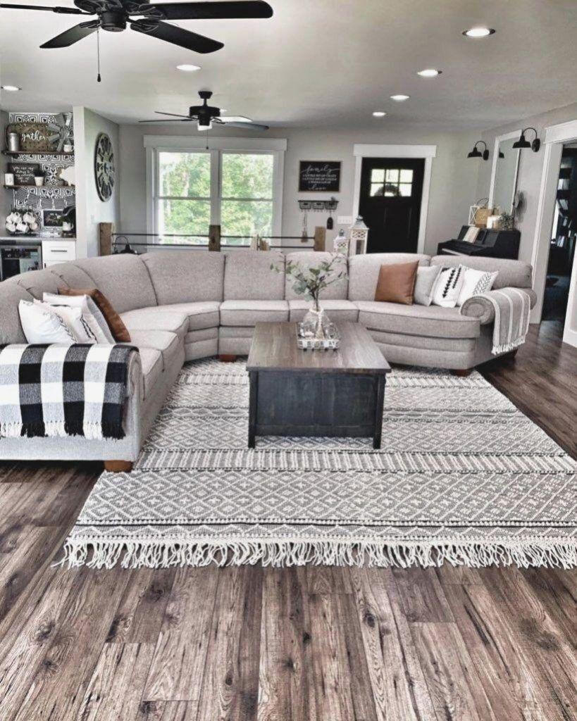 Bauernhaus-wohnzimmer-ideen - Home decor interior design