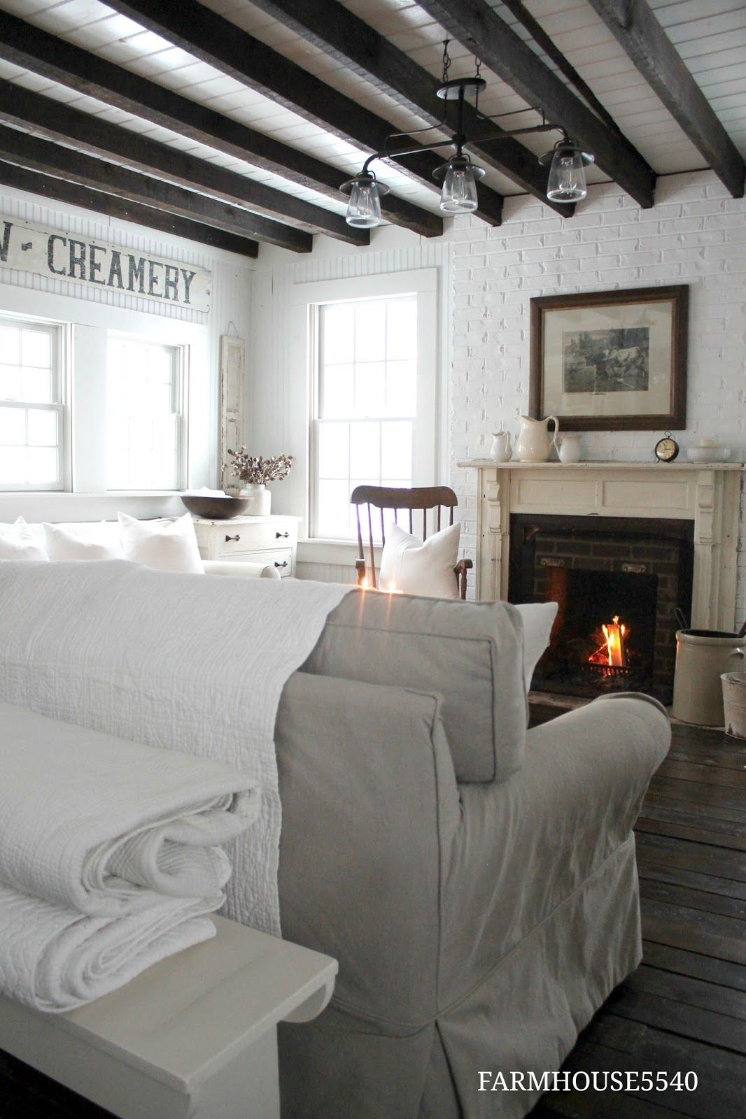 Renovating Decorating And Creating In An 1867 Pennsylvania
