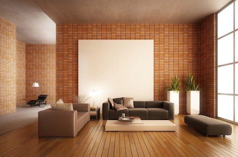 Decorar paredes con lo último en tendencias Salones minimalistas
