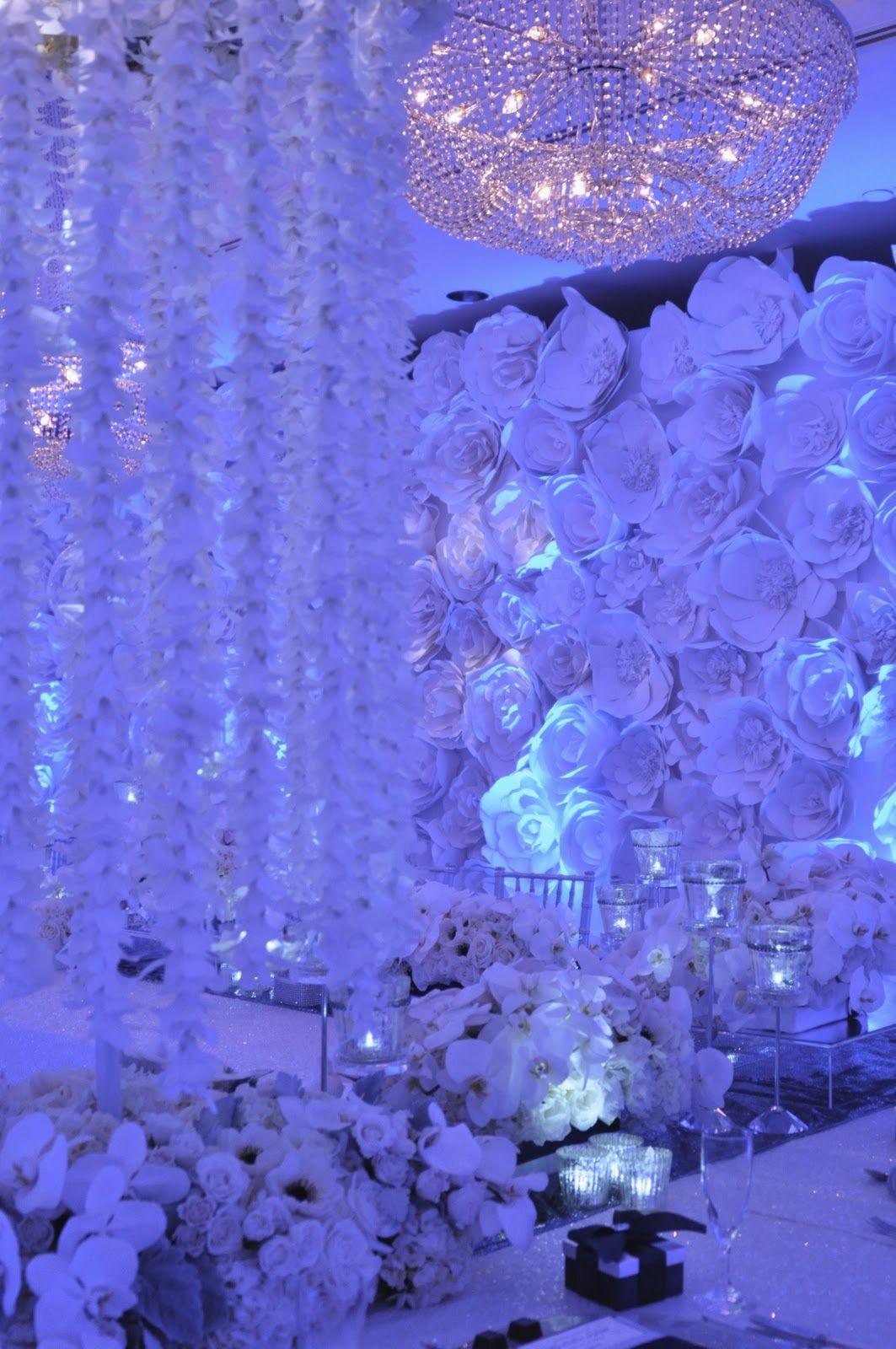Blue wedding decor ideas  WL studios vs the world Greek Princess  Happily Ever After