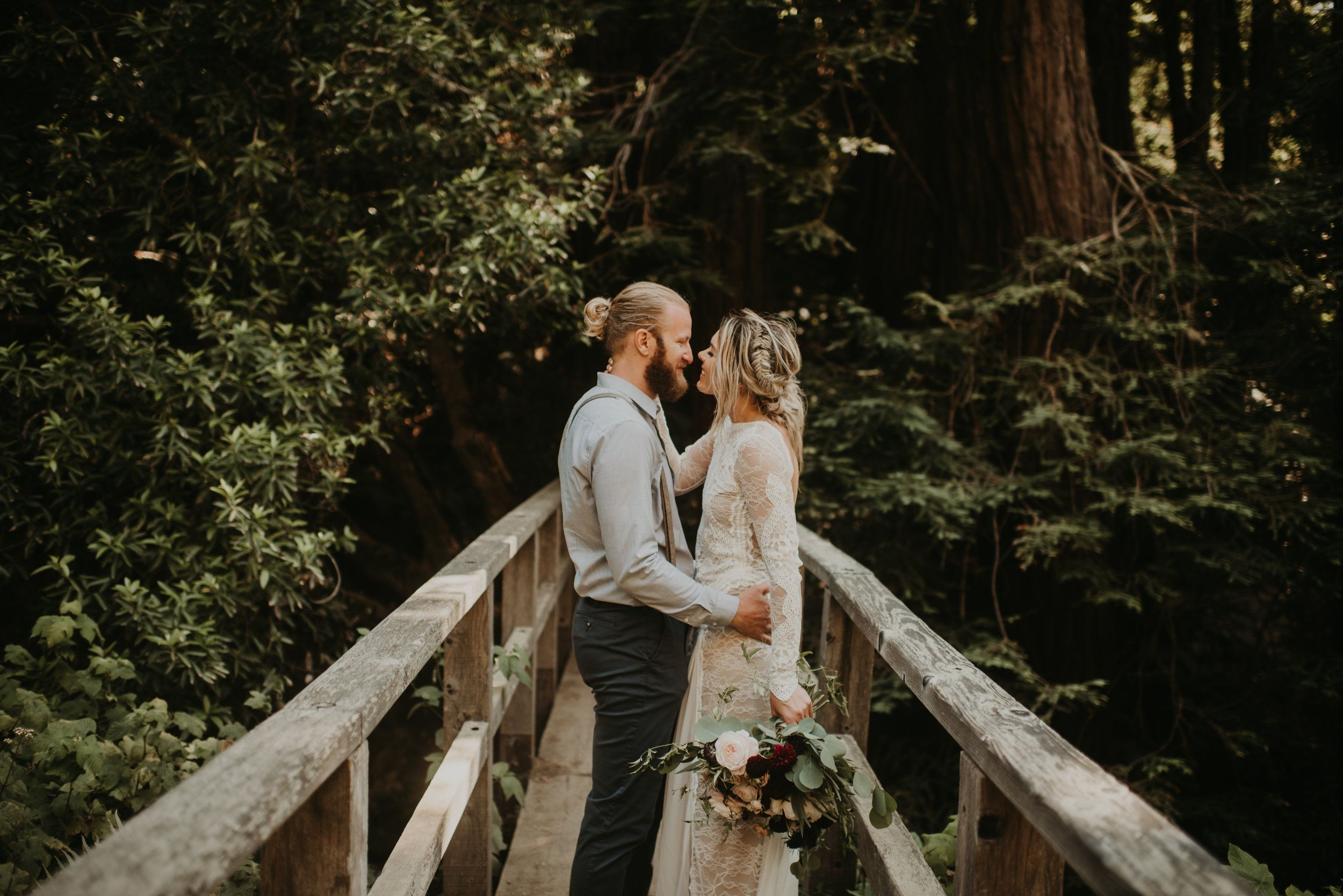 070b9fc3b1 Joanna + Brian West Coast Intimate Adventure Wedding in Big Sur, CA by  Seattle Wedding Photographer Kamra Fuller Photography