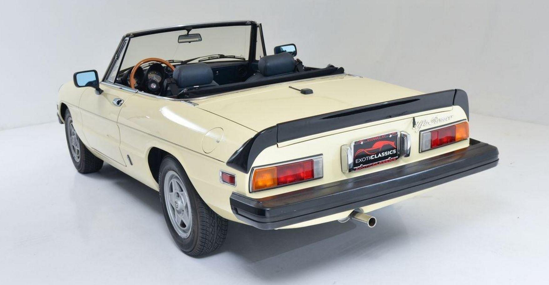 1982 Alfa Romeo Spider Veloce アルファロメオ スパイダー アルファロメオ