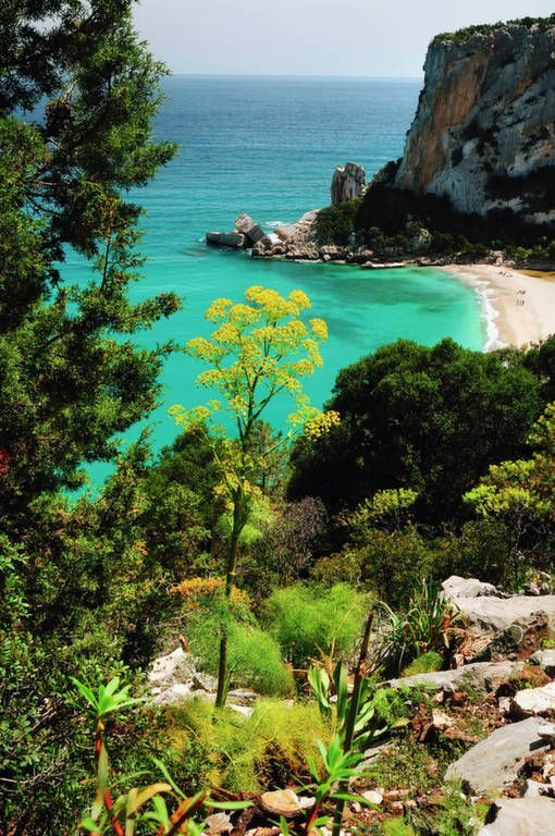 Sardinia The Second Largest Island In The Mediterranean Sea Italy