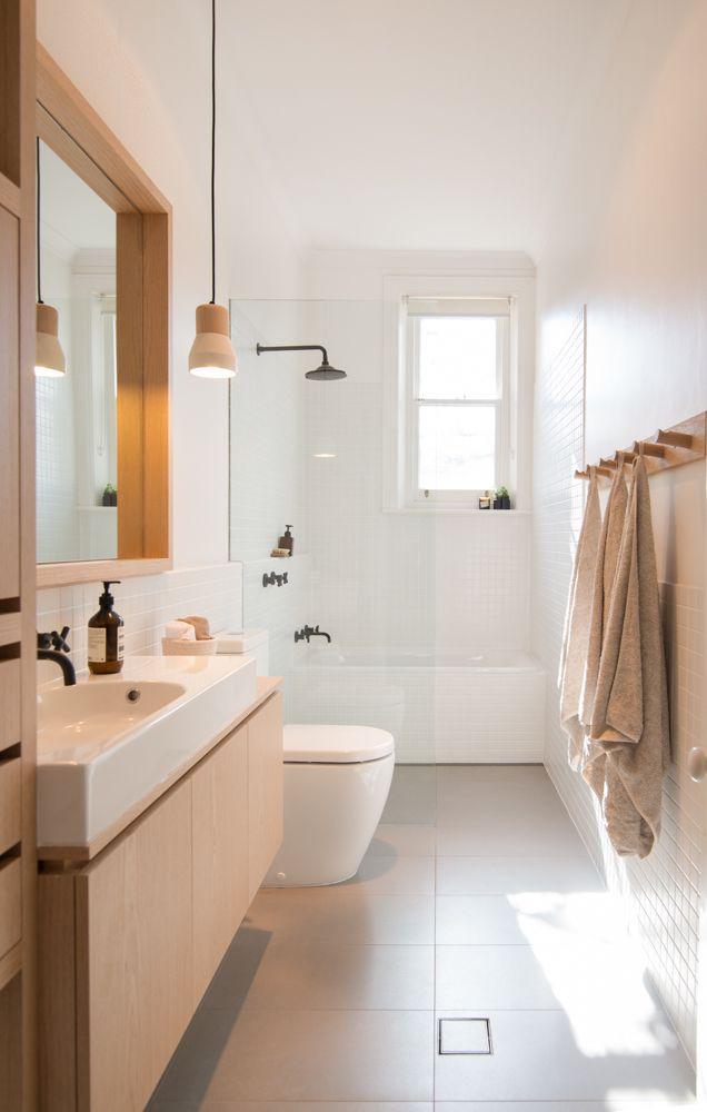 Un style scandinave pour la salle de bains baignoire for Materiaux pour salle de bain