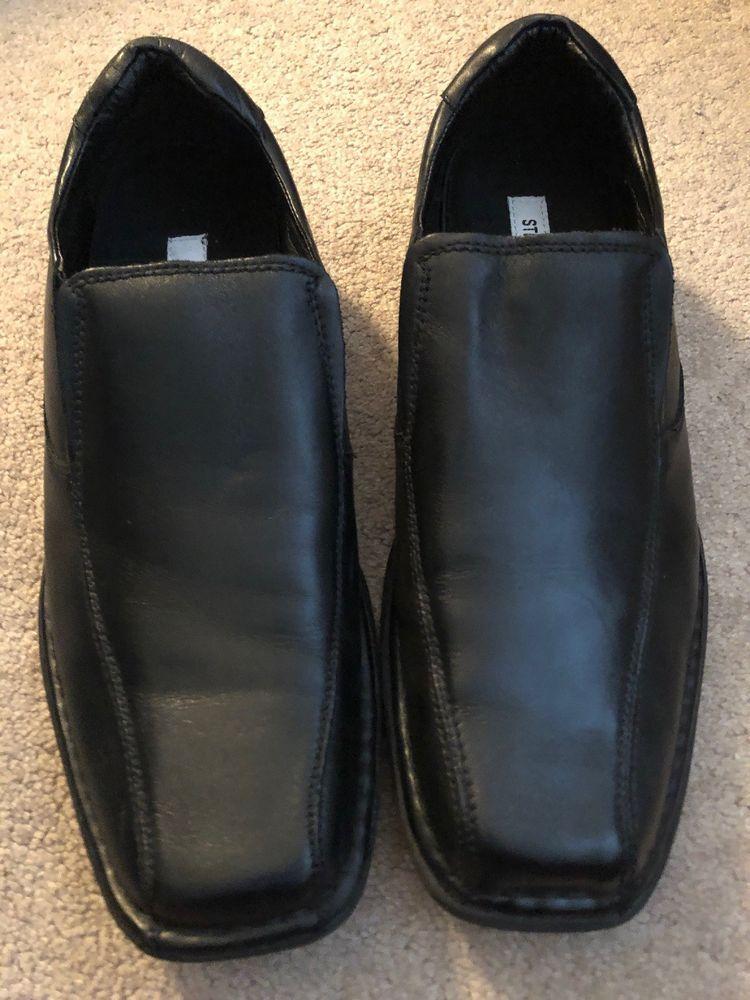 758484beb59 Steve Madden Montee Black Mens Dress Shoes Size 10 #fashion ...