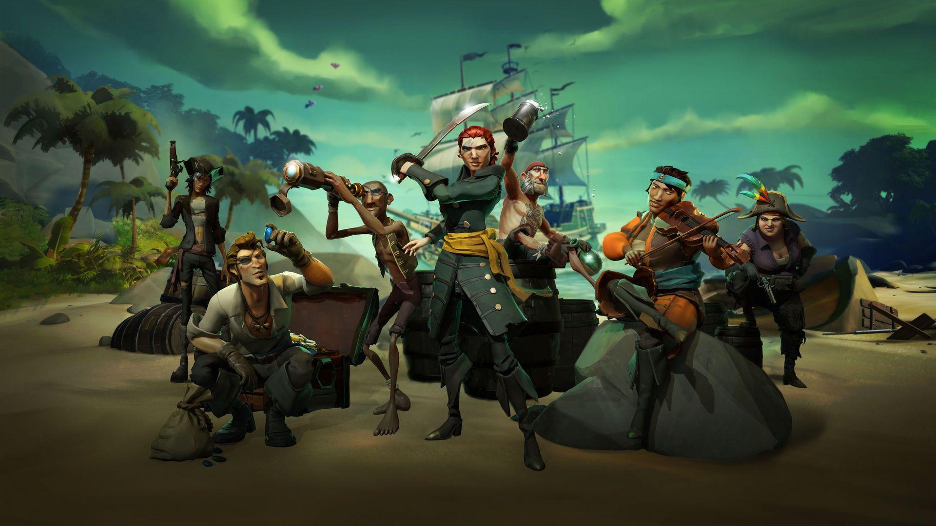 Sea Of Thieves Xboxone Seaofthieves Games Videogames Ships Piratas Juegos De Simulacion Xbox One Piratas