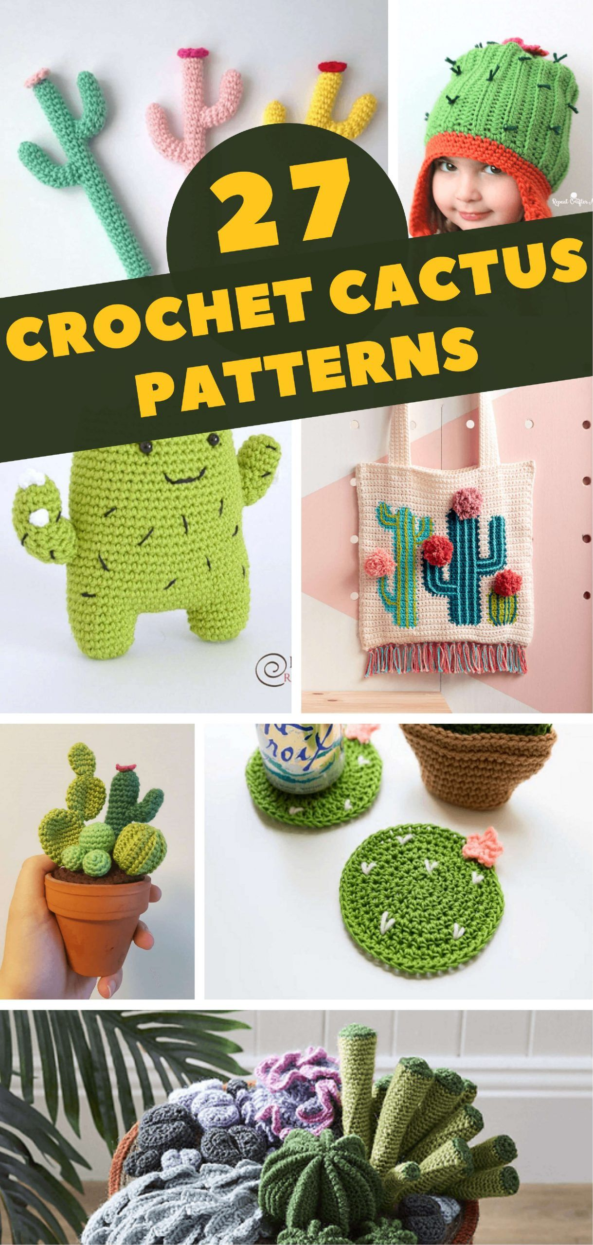 Photo of 27 Crochet Cactus Patterns – Crochet News