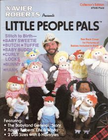 Xavier Roberts Presents Little People Pals Cabbage Patch Kids Dolls Cabbage Patch Kids Cabbage Patch Dolls
