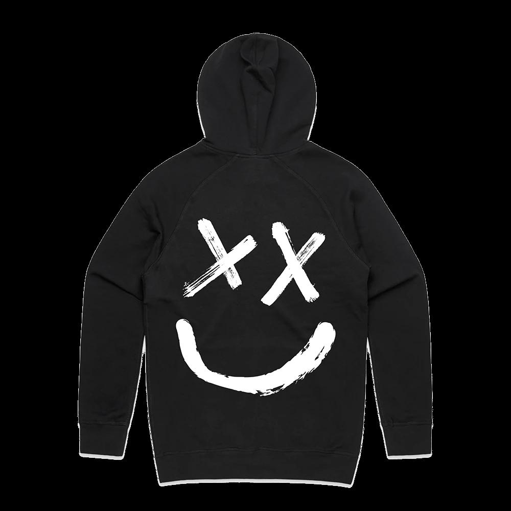 Reverse Smiley Logo Hoodie Hoodies One Direction Hoodies Harry Styles Merch
