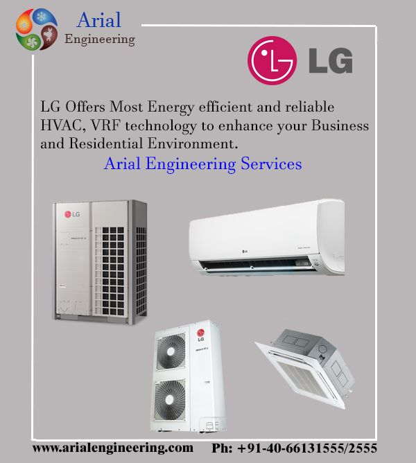 Lg Air Conditioning System Most Energy Efficient And Reliable