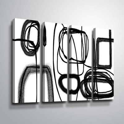 orren ellis abstract poetry 148 graphic art print multi piece