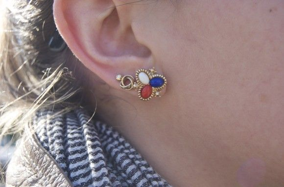 Vintage Earrings | Lauren Friedman Blog