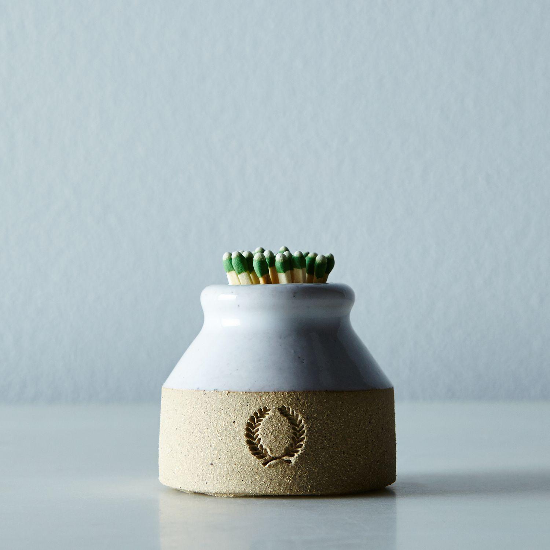 Milk Bottle Match Striker Table flower arrangements