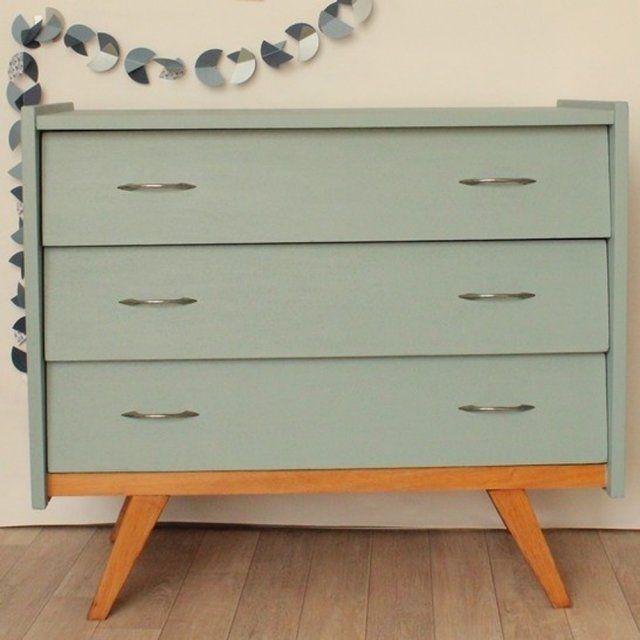 DIY  10 idées pour customiser un meuble en bois Commode vintage