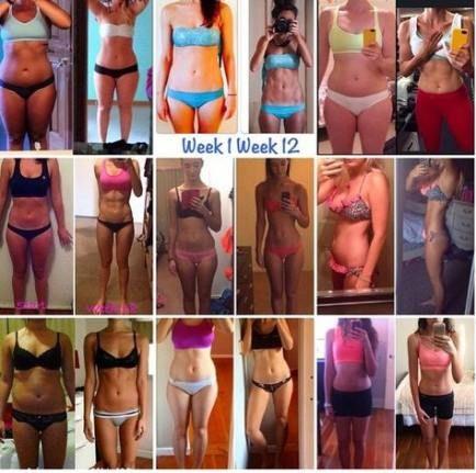 Best fitness transformation 12 weeks muscle 17+ ideas #fitness