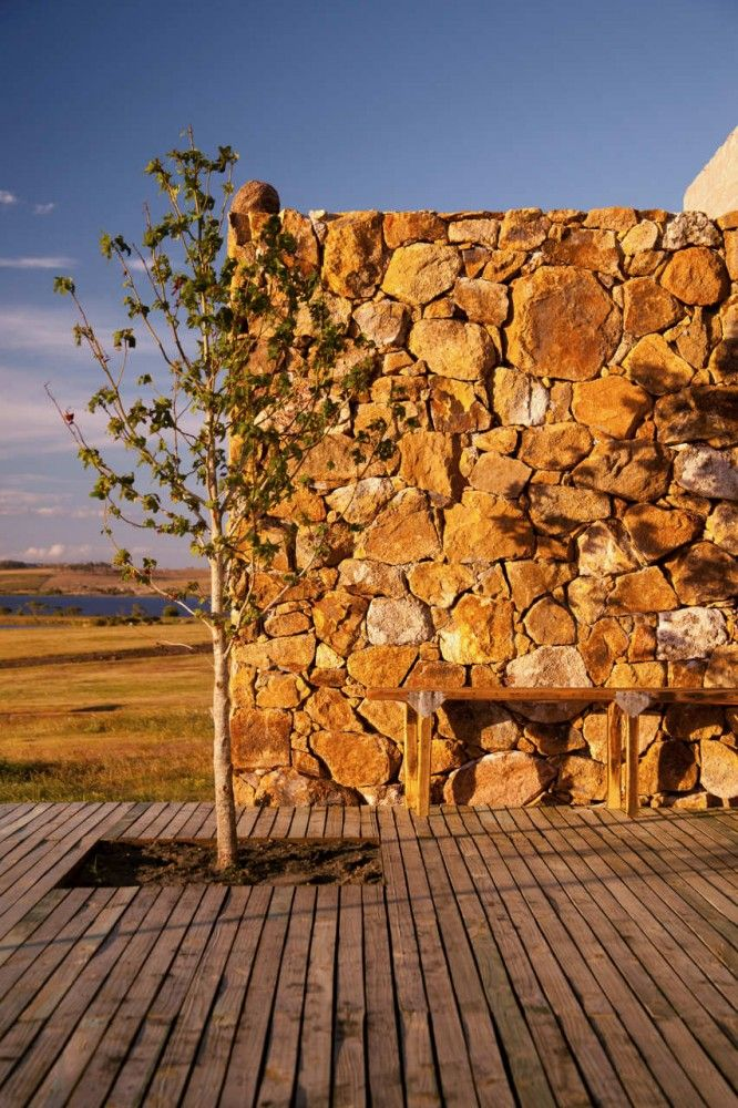 Revestimiento Muros de Piedra Pared con Laja Pinterest