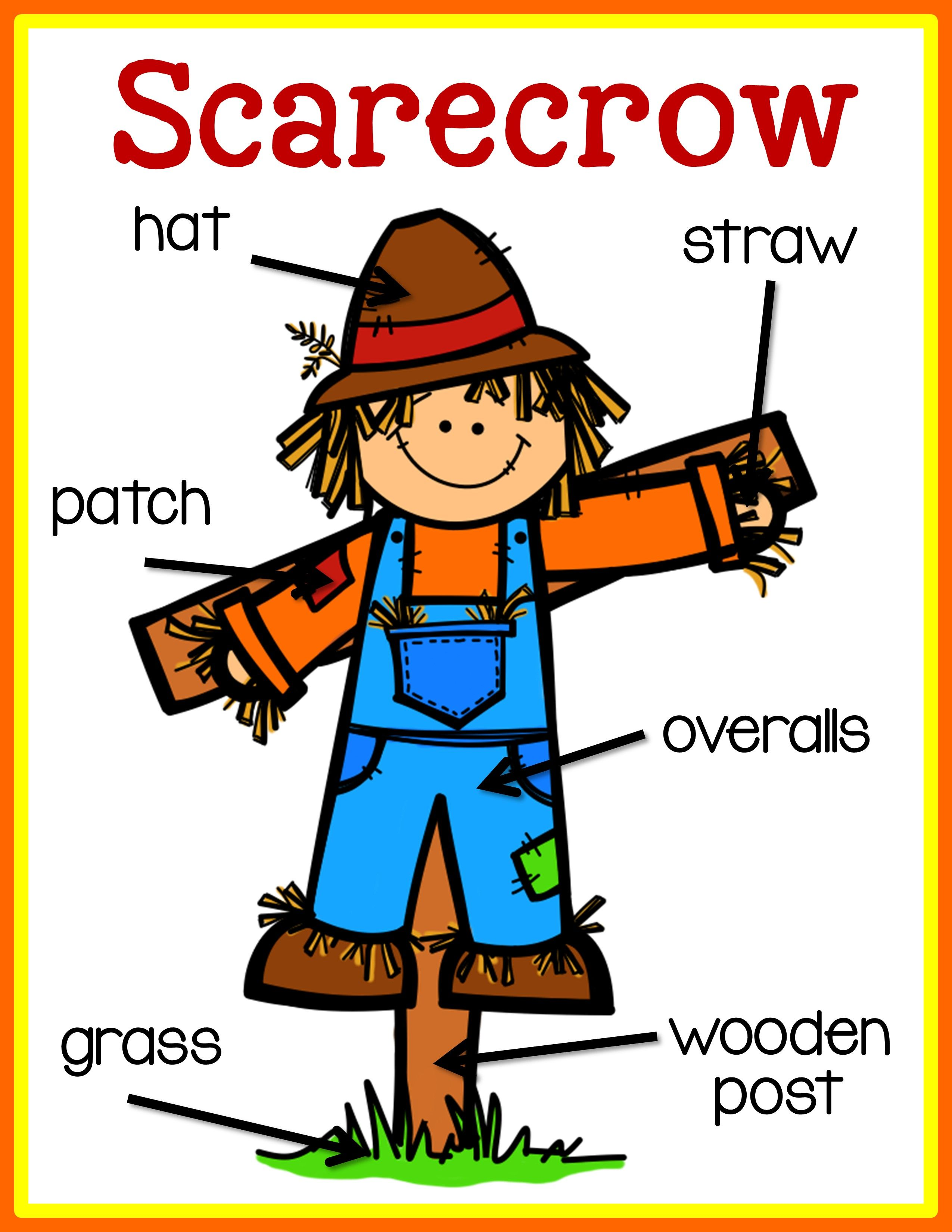 Scarecrow Labeling Posters Amp Differentiated Labeling