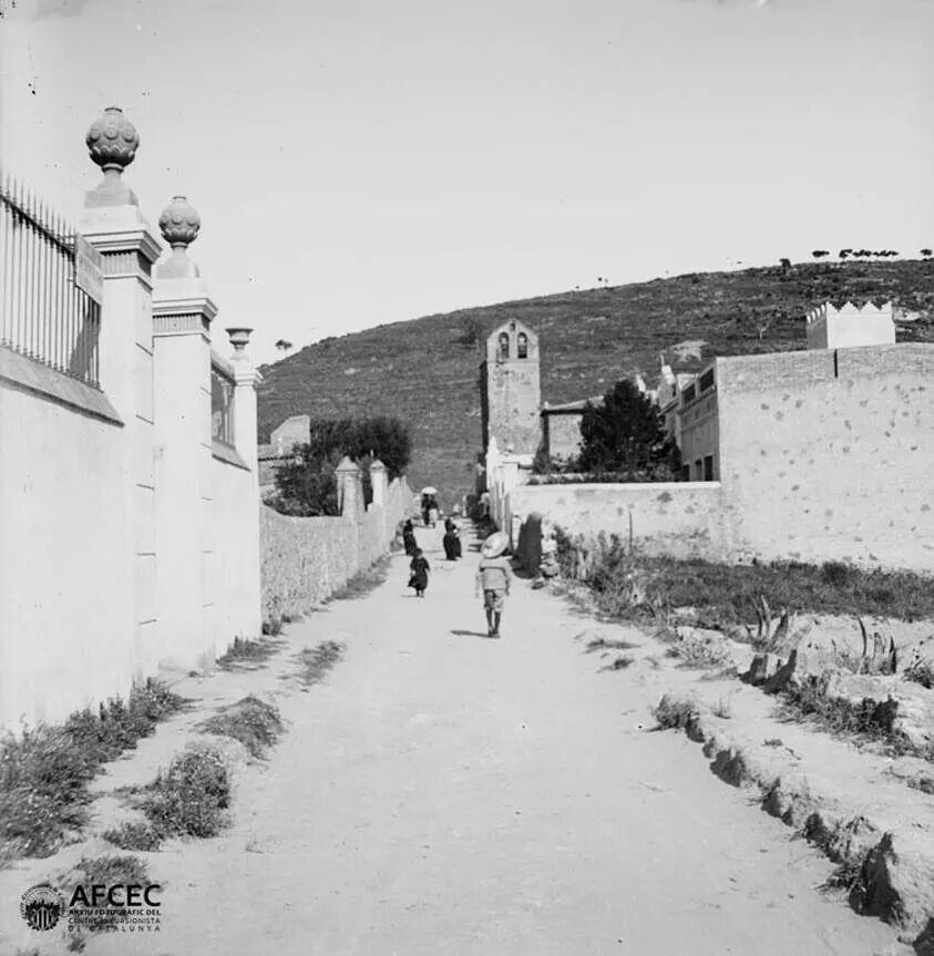 Barri De La Mare De Deu Del Coll Any 1897 Foto Frederic Bordas Barcelona Fotos Fotografía Antigua