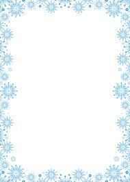 Risultati immagini per bordi e cornici clipart inverno | Copertine ...