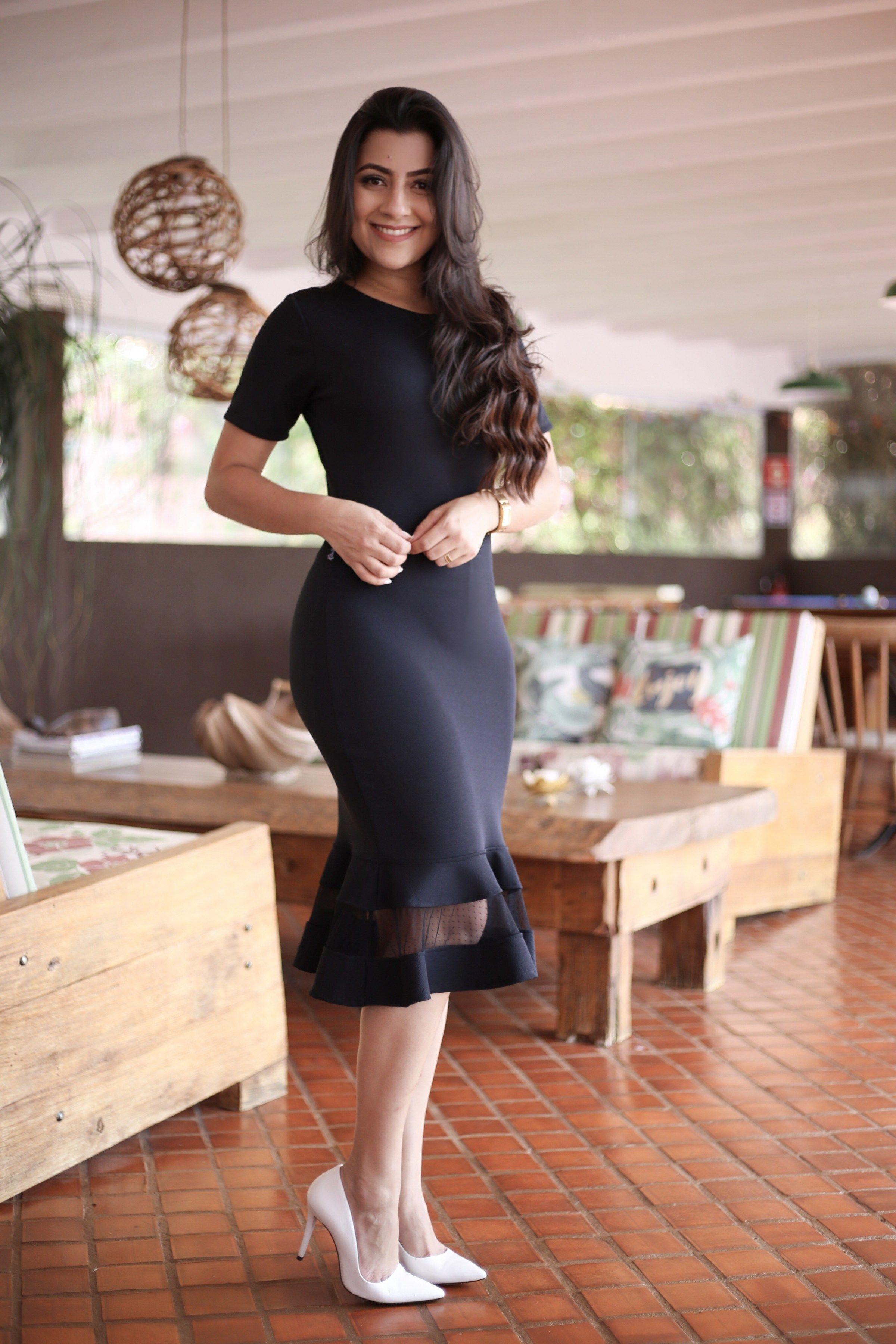 ff09f9591 Vestido Tubinho Isadora | Vestidos diversos em 2019 | Dresses ...