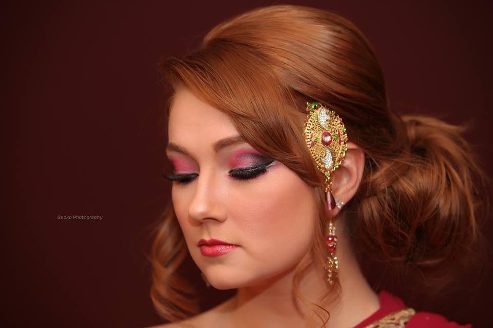 East Indian Bridal Makeup East Indian Bride Eye Makeup Indian