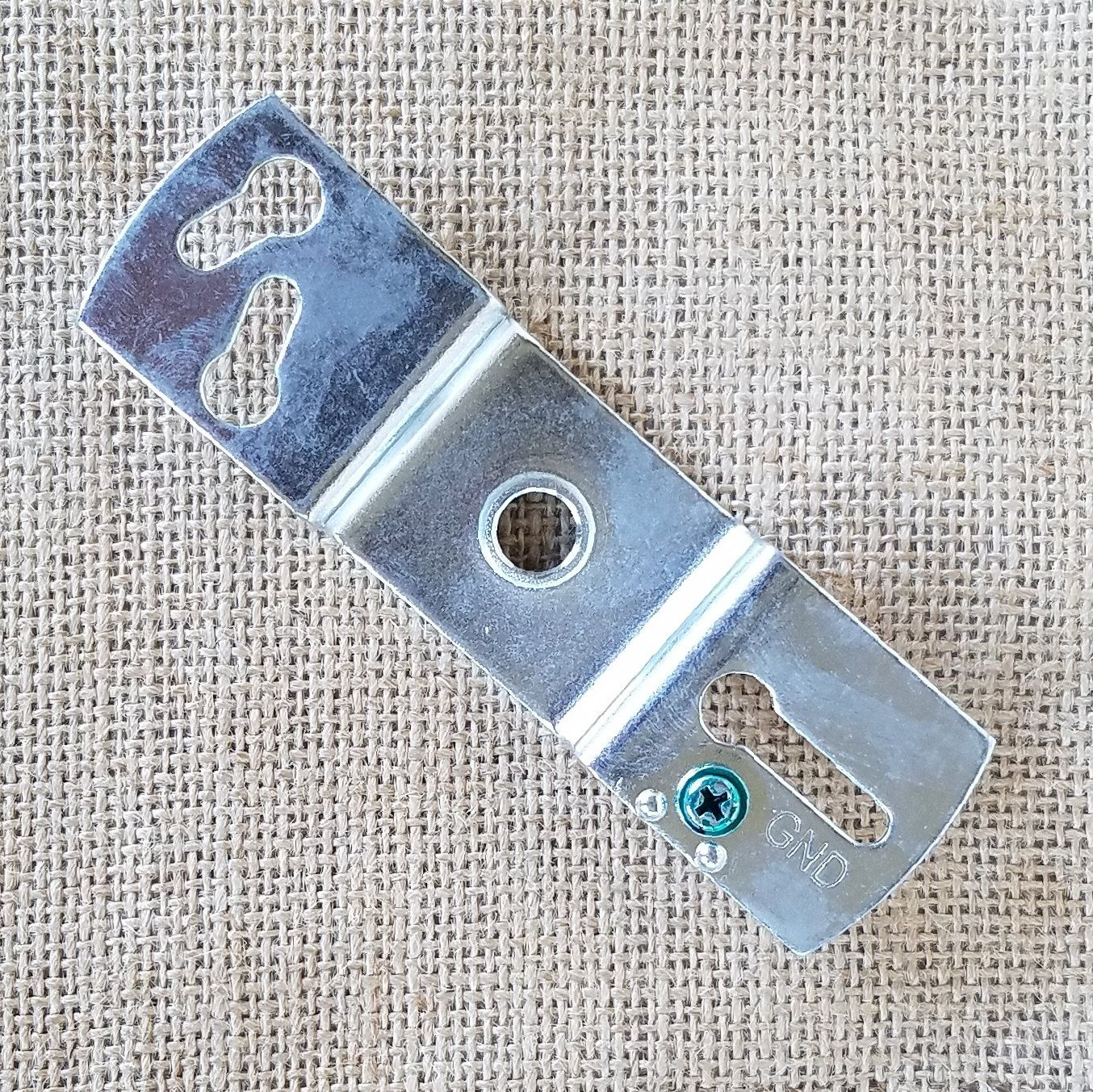Premium Thick Zinc Light Fixture Crossbar Mounting Bracket Thread 1 8 Or 1 4 Ip Light Fixtures Mounting Brackets Threaded Rods