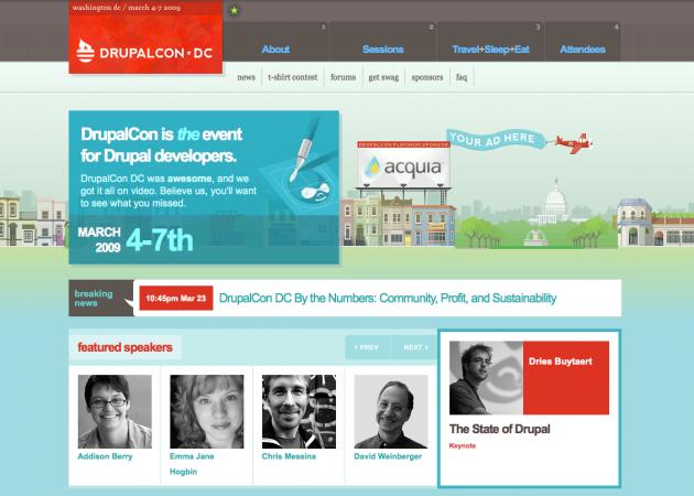 DrupalCon DC 2009 | Drupal Paradise