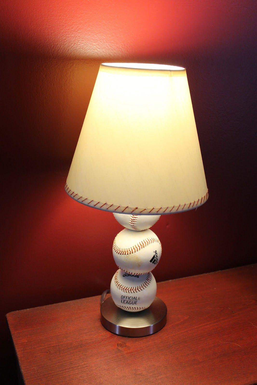 Baseball table lamp baseball table bonus rooms and men cave baseball table lamp geotapseo Image collections