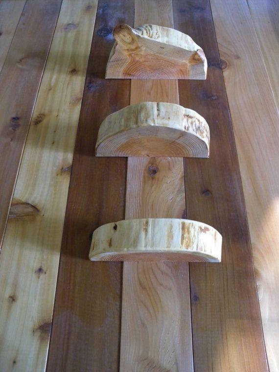 3 Live Edge Floating Shelf Rustic Floating Shelf Wood Floating Shelf Live Edge Wood Rustic Wood Rustic Floating Shelves Wood Floating Shelves Wood Tree