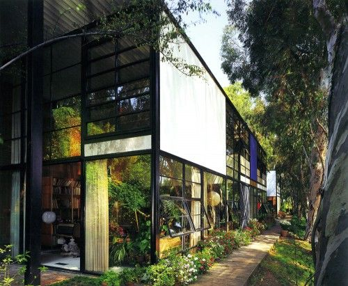 Case Study House n°8 - Eames House by Charles & Ray Eames