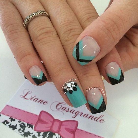 20 Magnificent Stone Nail Art Designs | nails | Pinterest | Stone ...