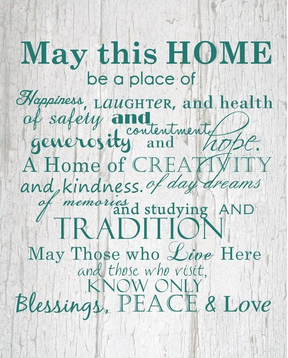 Prayers Much Love And Best Wishes For All Of You In Your Beautiful New Home 1 11 19
