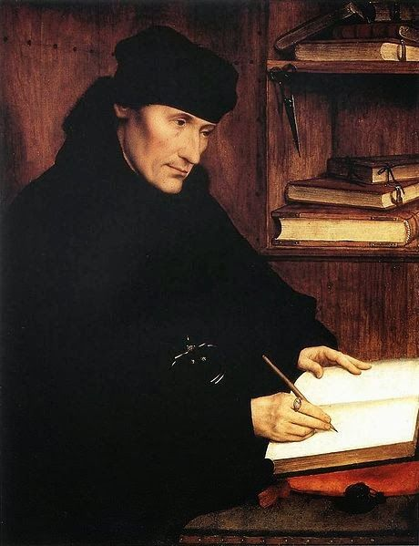 Erasmus, par Quentin Metsys