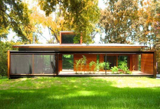 Simple Rectangular Design Modern House With Small Garden Ideas.jpg 530×361 pixels