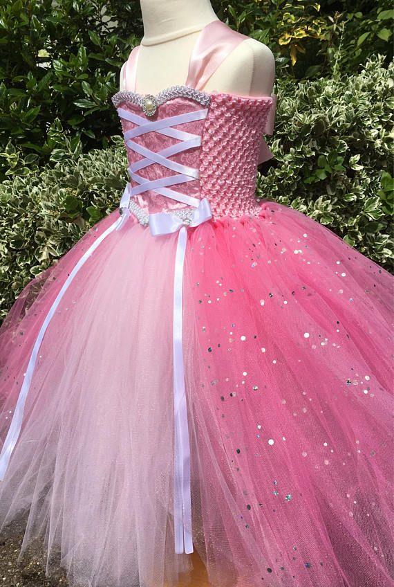 Pink Princess Tutu Dress | Vestido rosa de princesa, Vestido rosado ...