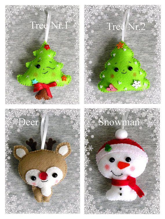 Christmas Tree Ornament Christmas Decor Christmas Gift Cute
