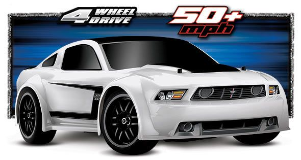traxxas 1 16 ford mustang vxl 7304 rc cars rc. Black Bedroom Furniture Sets. Home Design Ideas