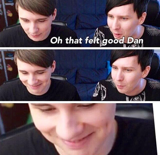 Seems like Dan enjoyed that innuendo
