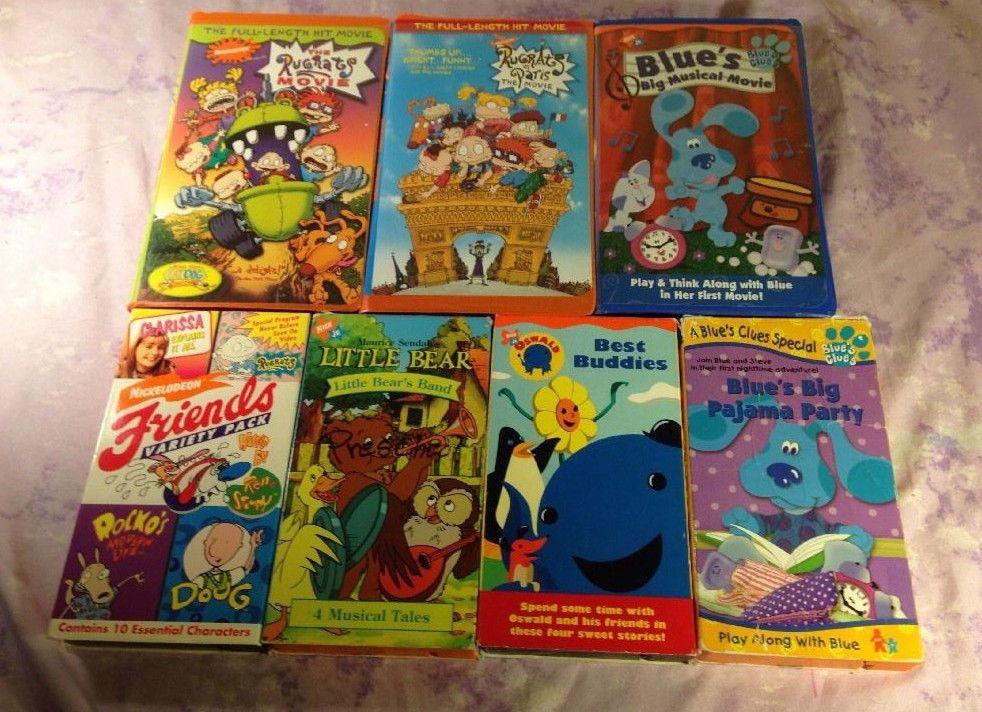 Rugrats ren & stimpy Clarisa Blues Clues Little Bear