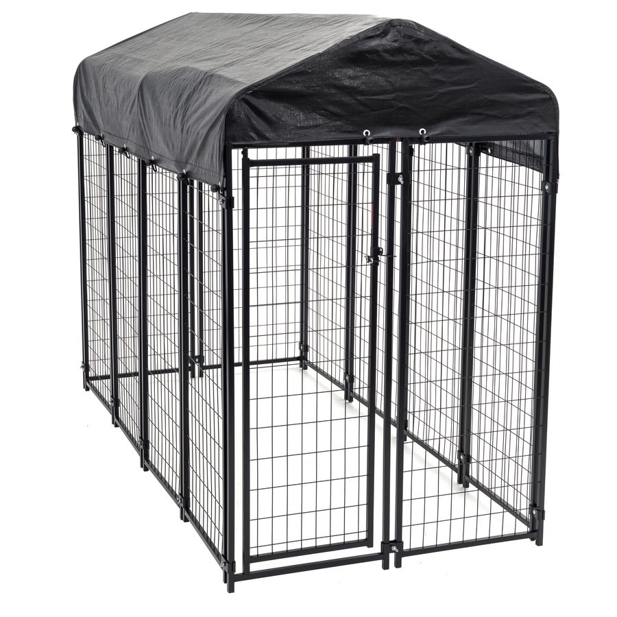8 Ft X 4 Ft X 6 Ft Outdoor Dog Kennel Box Kit Wire Dog Kennel