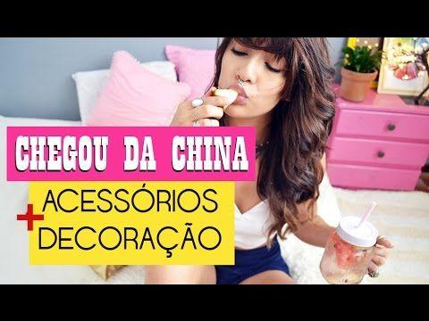CHEGOU DA CHINA + COMPRAS