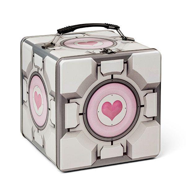 Companion Cube Tin Lunch Box 15