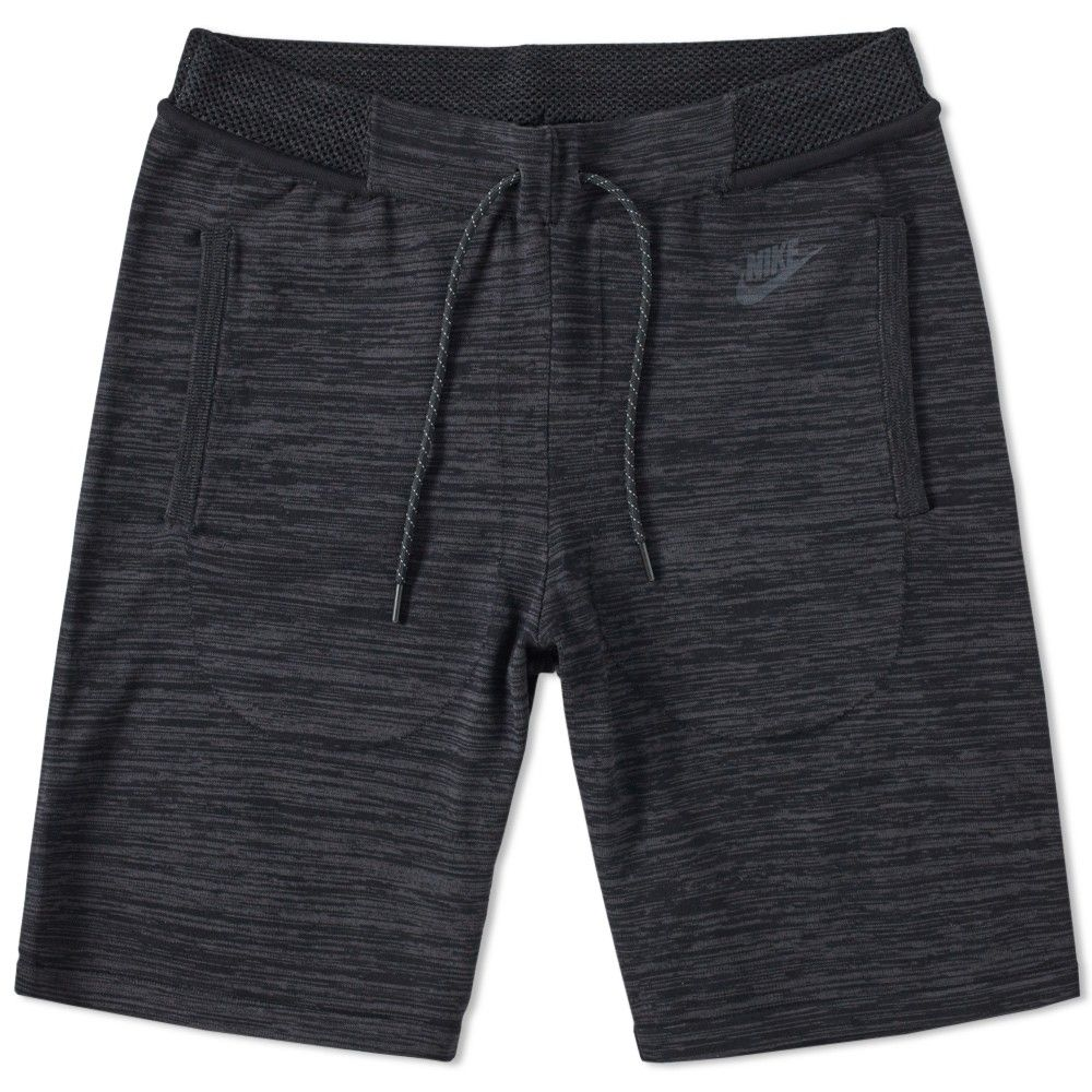 Nike Slim-Fit Tapered Cotton-Blend Tech Fleece Shorts  0a4a7dffe7