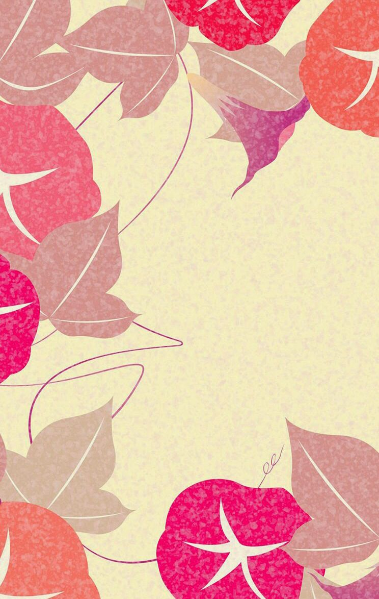Simple leaves with neutral background wallpaper