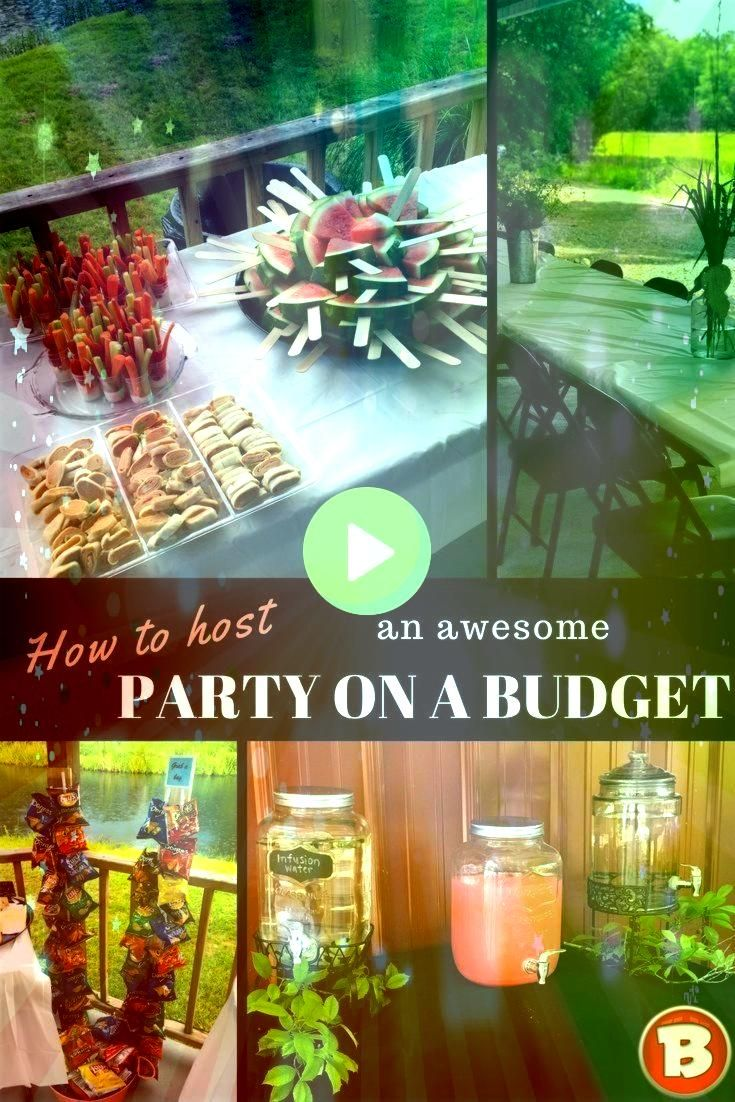to Host an Awesome Party on a Budget  Interior  How to Host an Awesome Party on a Budget  Interior   30  Fun and Cheap DIY Party Decorations  A party doesnt have to cost...