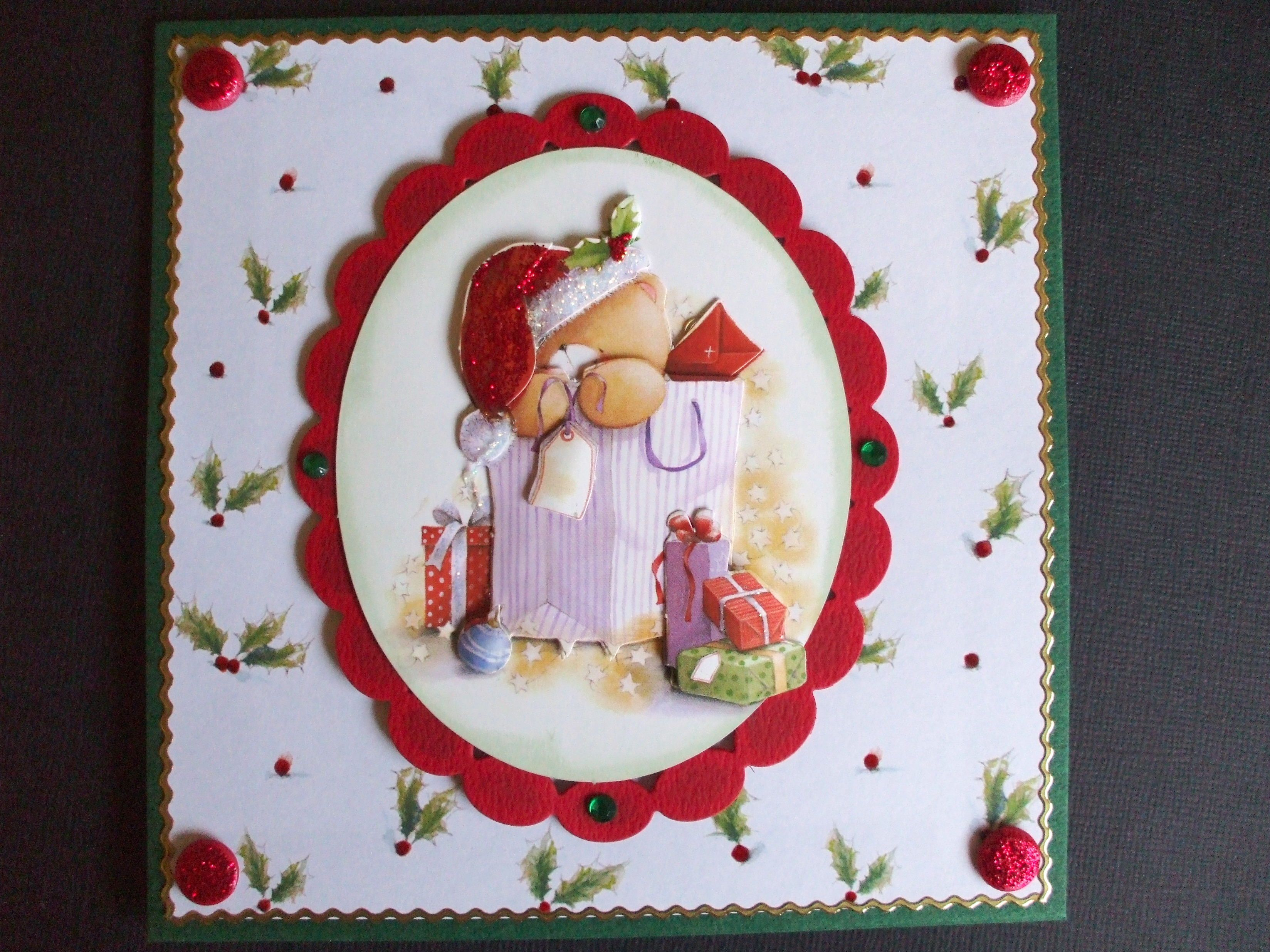 Handmade forever friends christmas card my handmade cards candles