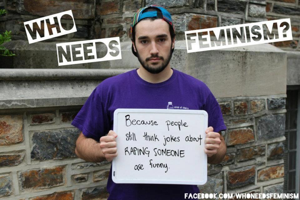 I need feminism...