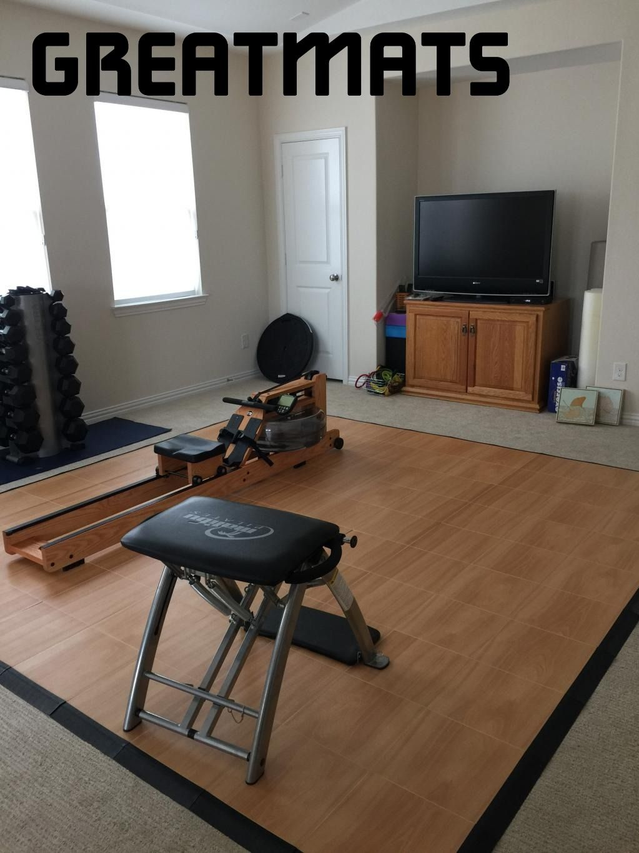 Max Tile Raised Floor Tile Home gym flooring, Basement