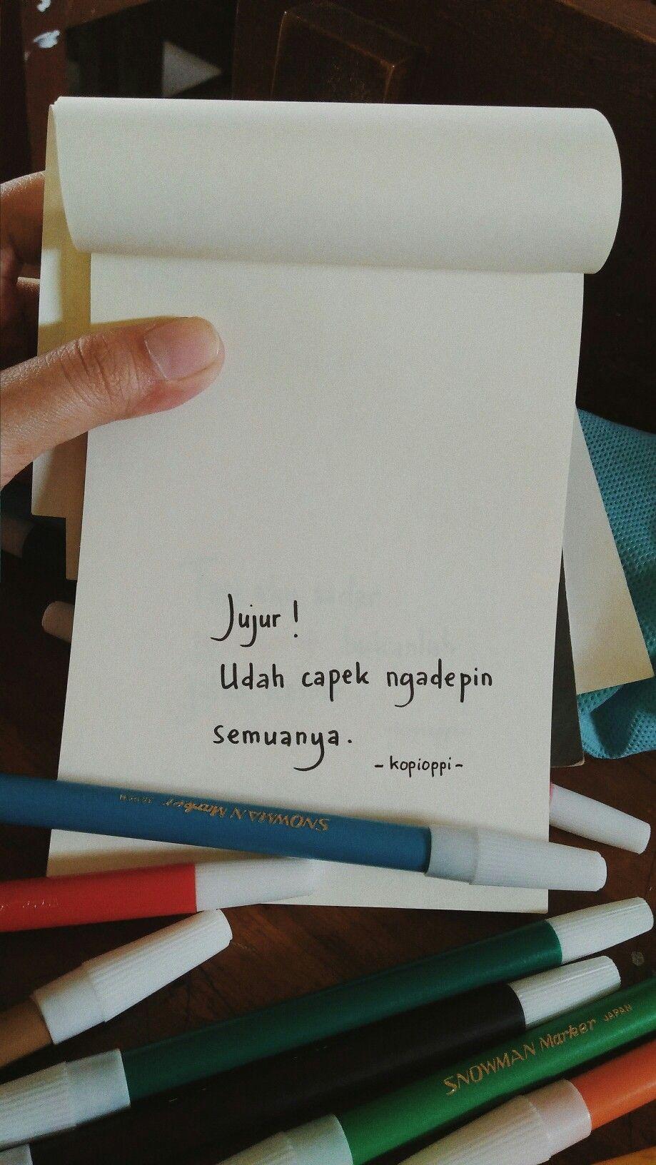 Kata Kata Lelah Uploaded by user